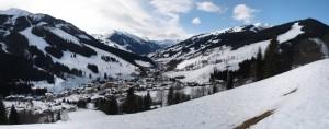 Panorama von Saalbach